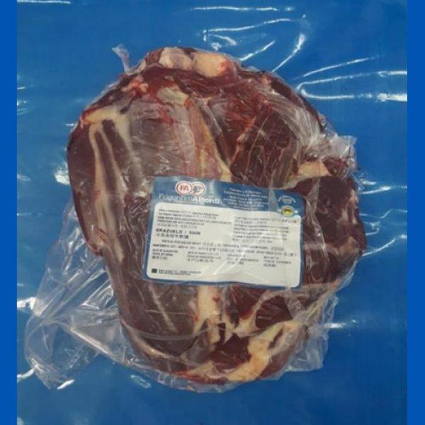 Beef brazuelo shin