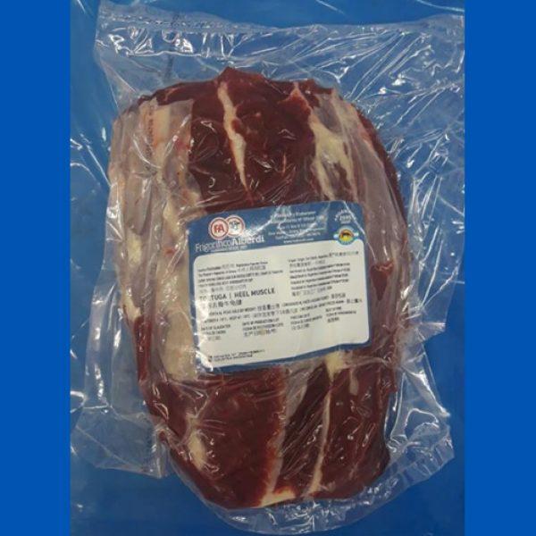 Beef tortuguita heel muscle